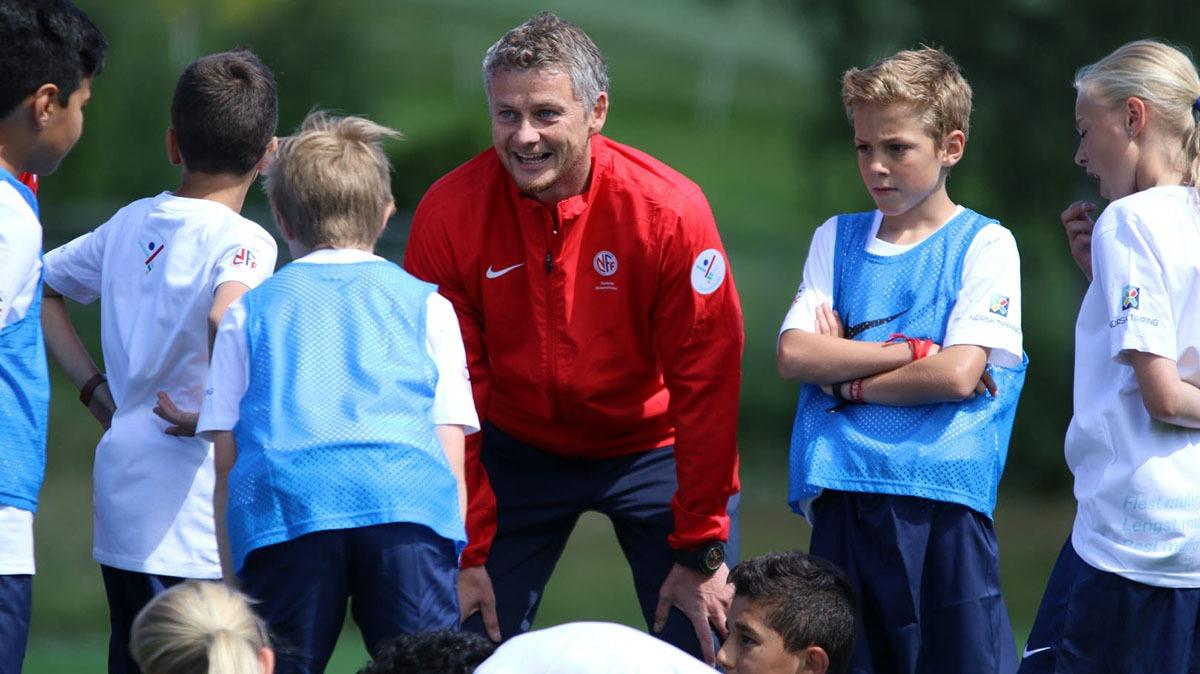 Coaching av ungdommer på treningsfeltet